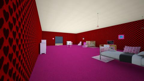 Pink1e - Kids room - by TaliaP