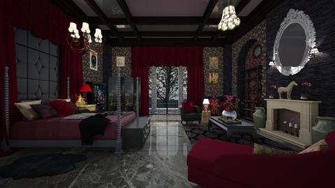 Eastern Inspired - Eclectic - Bedroom  - by Pirschjaeger