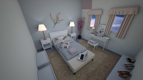 Tiny bedroom2 - Feminine - Bedroom - by CARMEND70