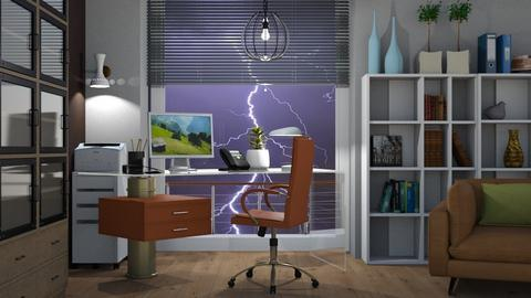 M_ Stormy office - Office  - by milyca8