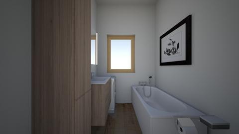 male_lazienka - Bathroom - by shuto
