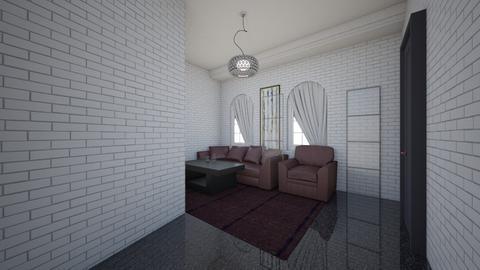 simple living room - Modern - Living room  - by saif_malay