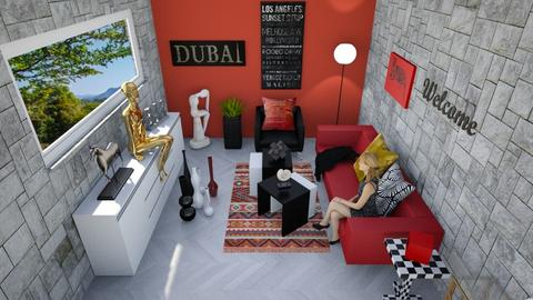 rouge - Modern - Living room - by rimanina