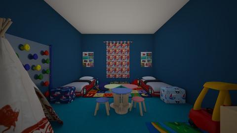 kids twins room - Kids room - by hallohallo04