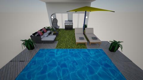 Patio and pool - by kwanda01