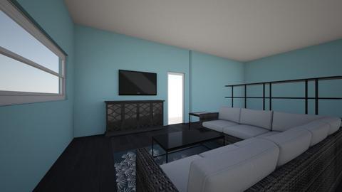 Living Room Housing Final - Living room  - by ILikeHamSandwiches