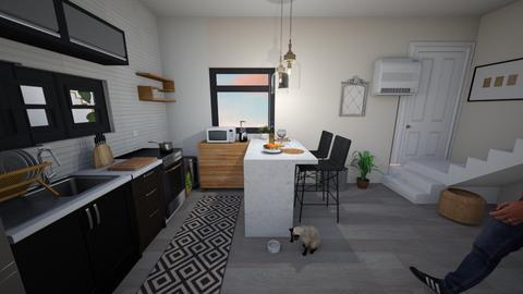 1st floor option smaller  - Kitchen  - by teryaki10