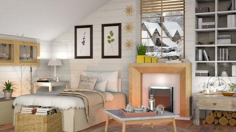 Winter Bedroom - Eclectic - Bedroom  - by Sally Simpson
