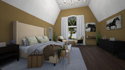 master bedroom - by Lotte Parker
