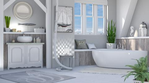 Nautical Bathroom - Bathroom  - by LB1981