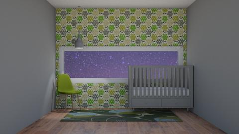 Nature Baby Bedroom - Bedroom  - by house17