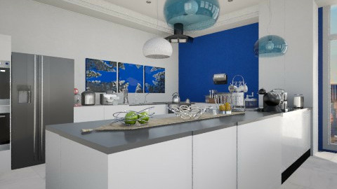 cool kitchen - Modern - Kitchen  - by Luana  Oliveira