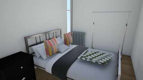 Bedroom E Street Condo - Eclectic - Bedroom  - by Jessica Walker