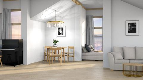 Remixed living - Living room  - by KathyScott