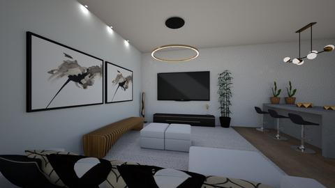 Solar Room - Modern - Living room  - by Cristiane Lichotto
