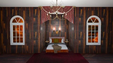 Autumn Bedroom - Rustic - Bedroom  - by Khayla Simpson