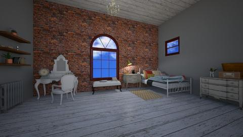 Lofty Dreams - Bedroom - by cowgirlsweet