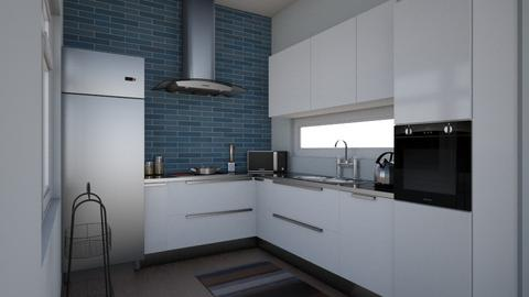 Test - Kitchen  - by marwilldesigns
