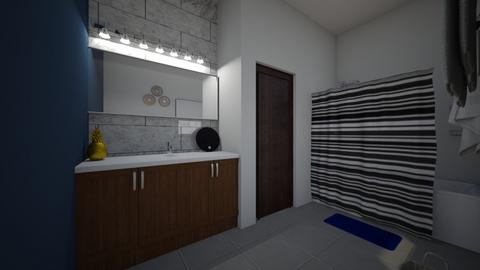 Upstairs Bathroom plan - Bathroom - by savanahjasmine