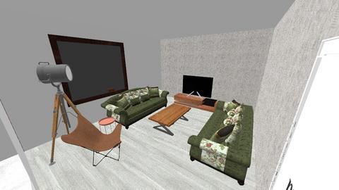 GH Cedre Living room 04 - Modern - Living room  - by hussamix