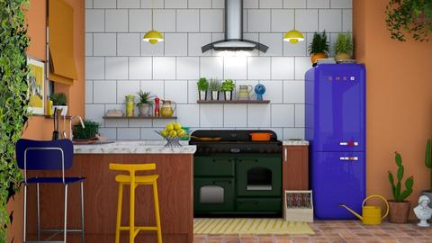 Sylvia - Eclectic - Kitchen  - by CharlotteCL