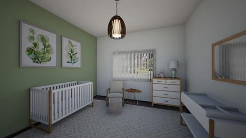 sage nursery - Kids room  - by none12