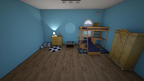 Sport Room - Bedroom - by muleok