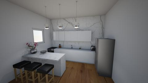 Small and modern kitchen  - Modern - Kitchen  - by ana pogorelec