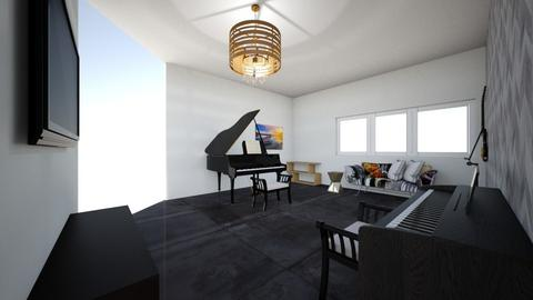 5MUSIC ROOM  - Modern - by tyran26