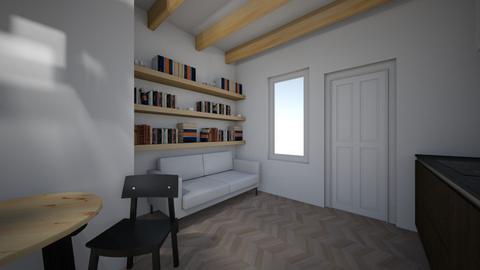 FLat - Living room  - by Sadiesct