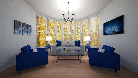 Modern living room Blue - Modern - Living room  - by Djuka1210