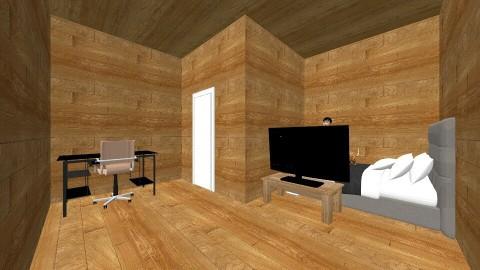 Nicks dream bed room - Country - Bedroom  - by Dominic Sorteberg