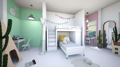 room for 2 children - Modern - Kids room  - by nguyentranynhi