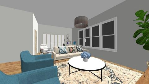 Our home - Living room  - by Florence Ran