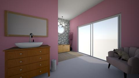 Cherry Blossom Bathroom - Bathroom  - by StylerT