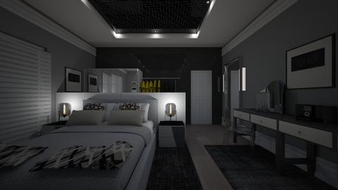 8985 - Eclectic - Bedroom - by peterlo