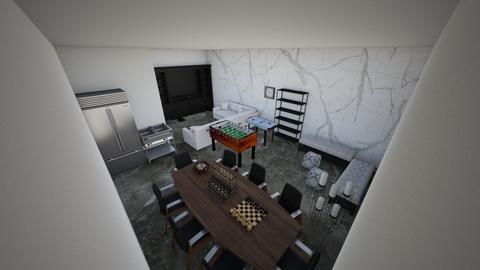 game room  - Living room  - by Manall