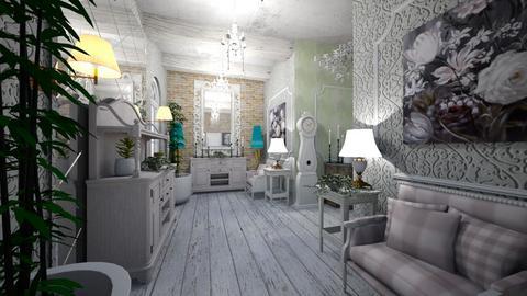 Shabby Chique Hall Way - Classic - Living room - by Nikos Tsokos