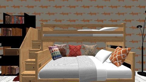 cute room - Modern - Bedroom  - by josiecat