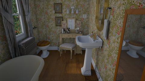 1940sBathroom - Vintage - Bathroom  - by PeculiarLeah