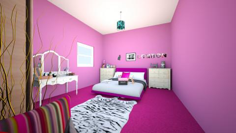 1 - Modern - Bedroom - by VIKUSIK LAPUSIK