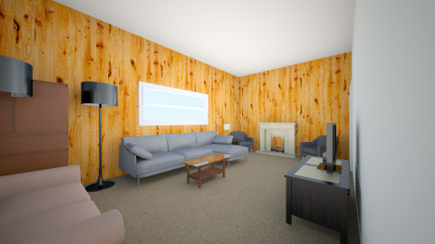 Living Room 1 - Minimal - by karen1227