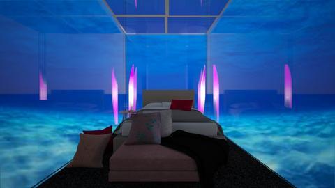 under water - Modern - Bedroom  - by vallequeen