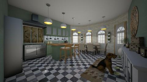 cozy kitchen - Classic - Kitchen  - by kla