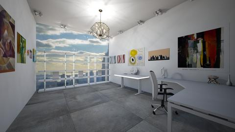 Artist studio loft art - Modern - Office  - by jade1111