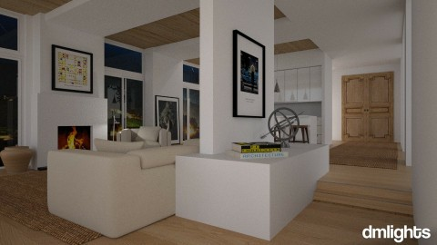 Modern Hall - Living room - by DMLights-user-981894