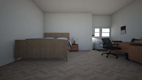 zolderkamertje  - Modern - Bedroom  - by matthiaskral02