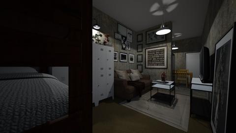 Bunker 2021 - Living room  - by SammyJPili