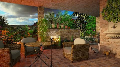 Sicilian Terrace - by ZsuzsannaCs