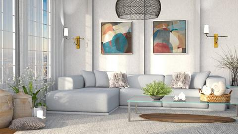 M_Cityscape - Living room  - by milyca8